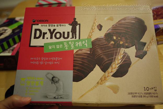 Dr.You ダークチョコケーキ-1