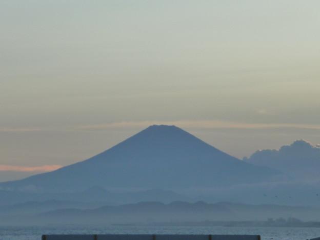 富士山のシルエット