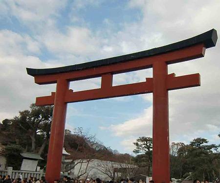 鶴岡八幡宮-240111-1