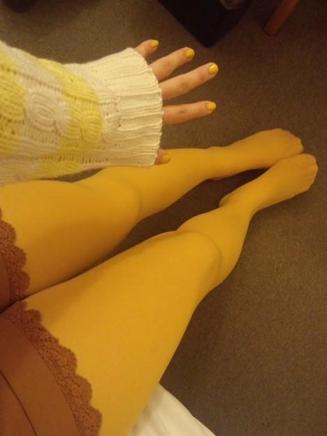黄色づくし