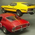 写真: 1/18ミニカー、フォード・マスタングその2