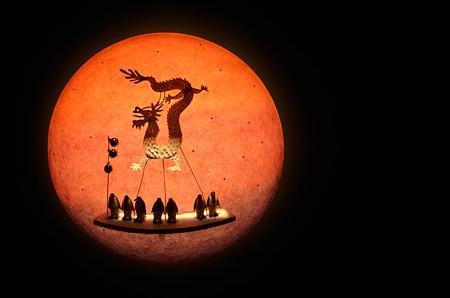 龍とウサギそして月