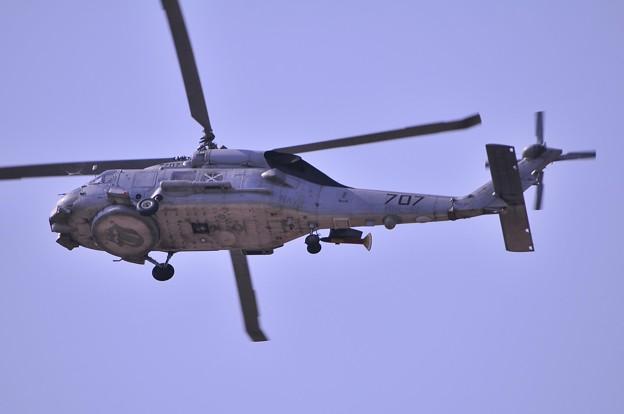 U.S NAVY SH-60Fオーシャンホーク練習中。。