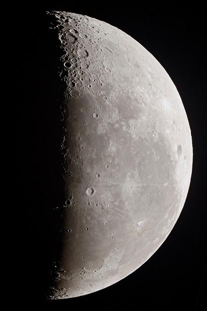 ひさびさの月