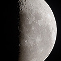 Photos: ひさびさの月