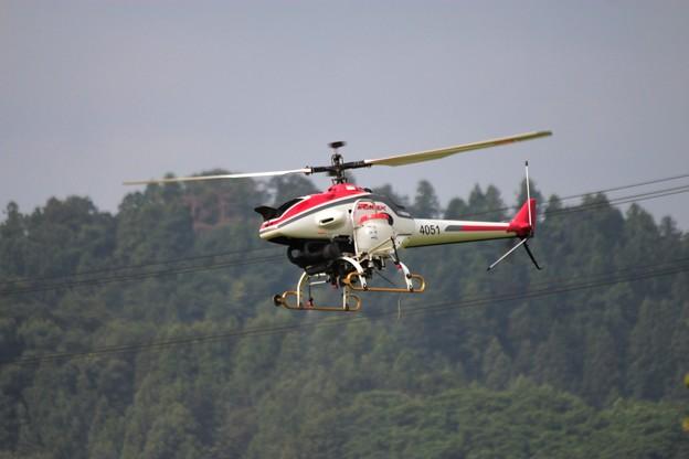 農薬空中散布 無人ヘリコプター 4