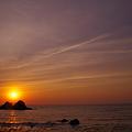 Photos: 二見ヶ浦の夕陽・・・♪