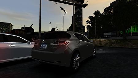 2011 Lexus CT200h リア