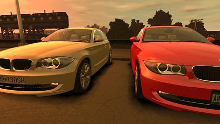 GTAIV BMW 1シリーズ120I 瞼